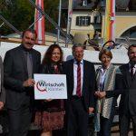 Sozialpartner und Landespolitik vor dem PEHN Boot