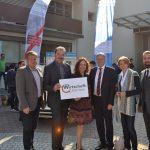 Gruppenbild: Sozialpartner, Gaby Schaunig und Peter Kaiser