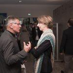 Reinhard Huber und Gaby Schaunig im Gespräch - sieht spannend aus!